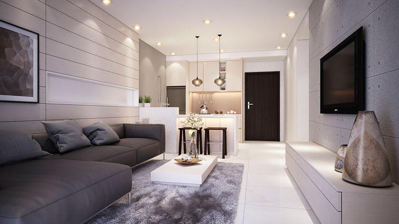Thiết kế thi công nội thất căn hộ ALVA PLAZA Thuận An