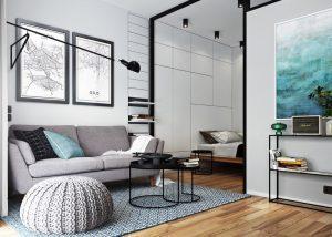Thiết kế nội thất căn hộ studio tại Bình Dương
