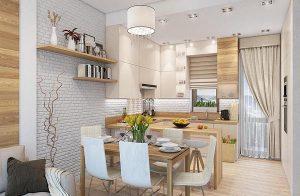 Thiết kế nội thất căn hộ diện tích nhỏ tại Bình Dương