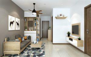 Thiết kế nội thất căn hộ chung cư nhỏ tại Bình Dương