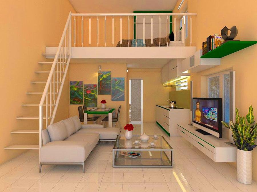 Thiết kế nội thất căn hộ mini tại Bình Dương